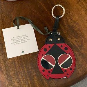 Kate spade ladybug bag charm